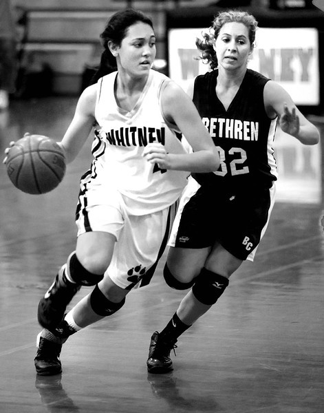 WHS vs Christian Brethren - Basketball 2012