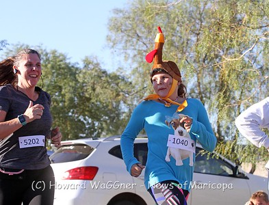 10 Annual Maricopa Turkey Trot 11-23-2017
