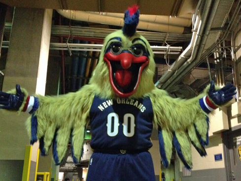 ". <p>10. (tie) NEW ORLEANS PELICANS <p>New mascot is such a disaster, they should name it Katrina. (previous ranking: unranked) <p><b><a href=\'http://msn.foxsports.com/nba/story/new-orleans-pelicans-mascot-is-really-scary-daily-buzz-best-of-web-roundup-103113 \' target=""_blank\""> HUH?</a></b> <p>   (Instagram photo)"