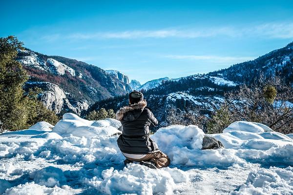 Yosemite Winter 2017