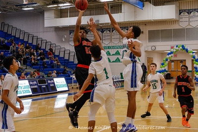 Boys JV Basketball vs South Lakes 2/10/17