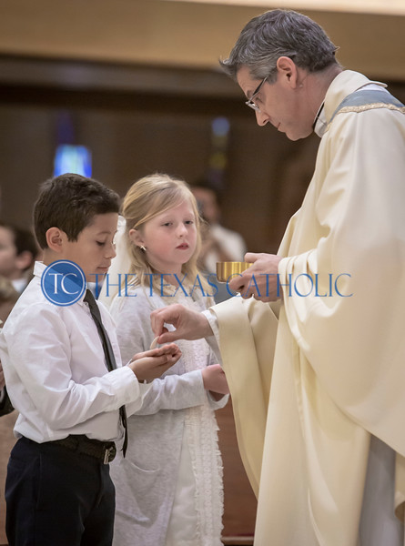 First Communion at All Saints - Spring 2019