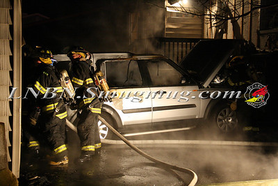 Amityville F.D. Detached Garage Fire 45 New Point Pl 3-30-12