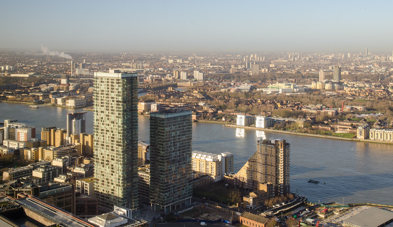 Docklands apartments and cityscape