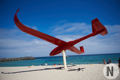 Final Approach, Sculpture by the Sea, Cottesloe 2018
