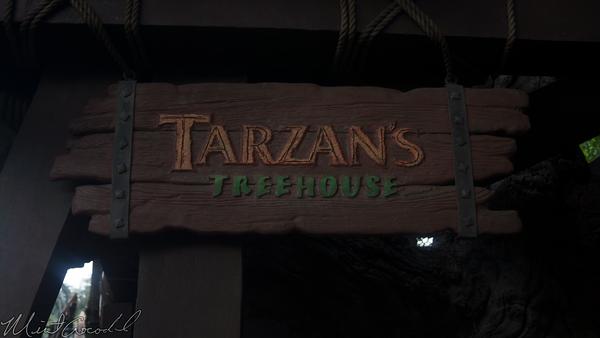 Disneyland Resort, Hong Kong Disneyland, Adventureland, Tarzan, Treehouse, Tarzan's Treehouse