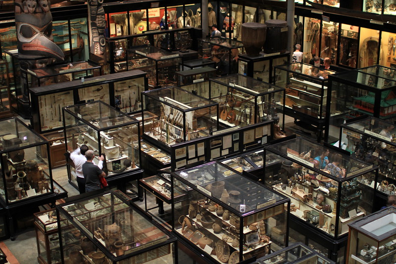 Archaeological and ethnographic objects from all parts of the world