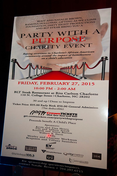2nd Annual Party With A Purpose Supporting A Child's Place @ BLT Steak 2-27-15  by Jon Strayhorn