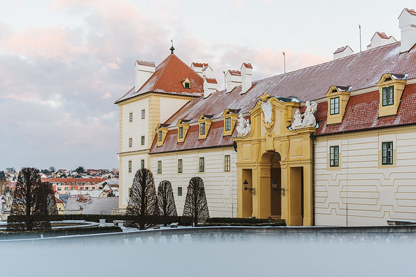 Zamek Valtice :: Zimni zamek a Belveder 2021 FB
