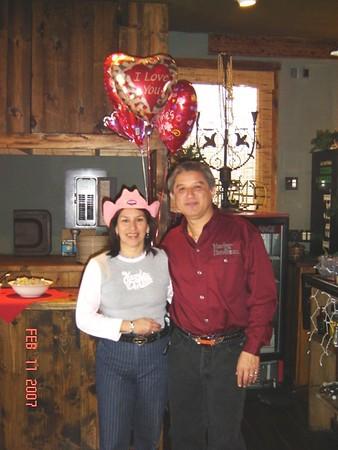 2007-02-10 Valentines Day 'Boerne Bistro'