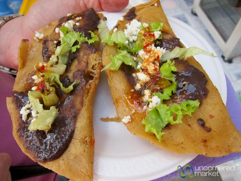 Mexican Fried Quesidillas - Oaxaca Region, Mexico