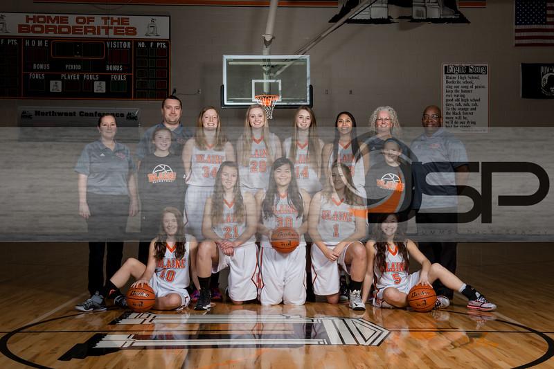 2014-15 Girls Basketball Team and individual