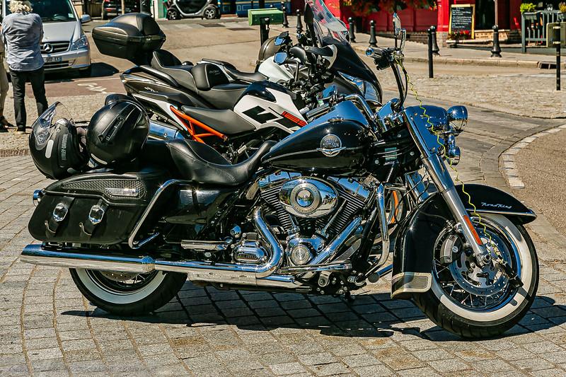 Harley Davidson at Honfleur