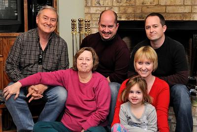 Foreman Family Christmas 2010