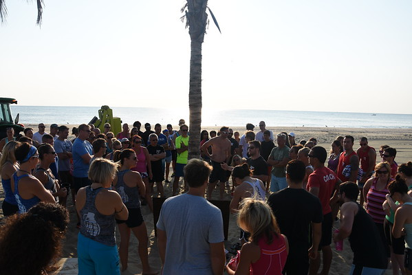 Beach WOD! Chapel Beach Club