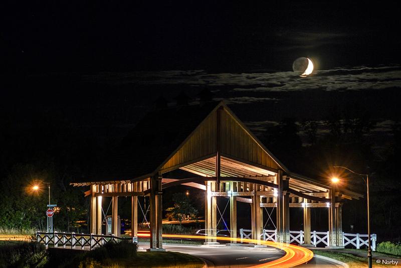 Chevalle Memorial night bridge 1-4- moon 2017.jpg