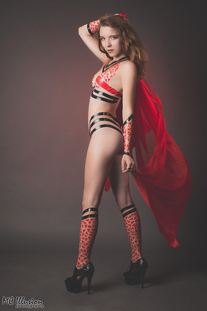 Red and Black - Taylor White