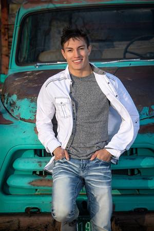 Troy's Senior Portrait Pueblo Centennial 2021