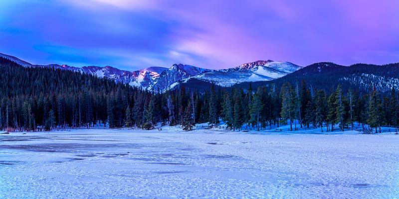 Echo Lake at Dawn