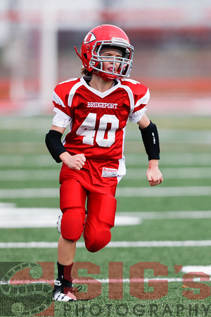 10-30-16 Bridgeport Pee Wee Red Football vs Buckhannon