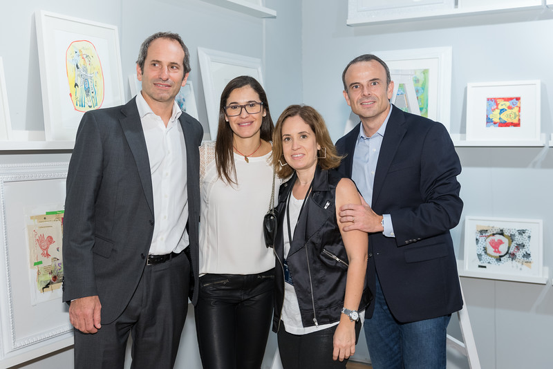 Fernando Diez, Flor Diez, Laura Villareal, César Elizondo