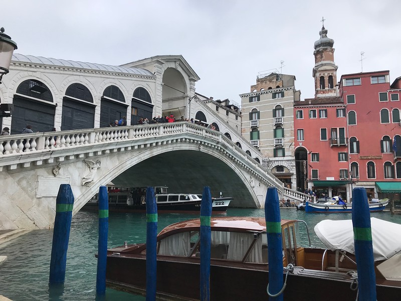Rialto Bridge, Venice.