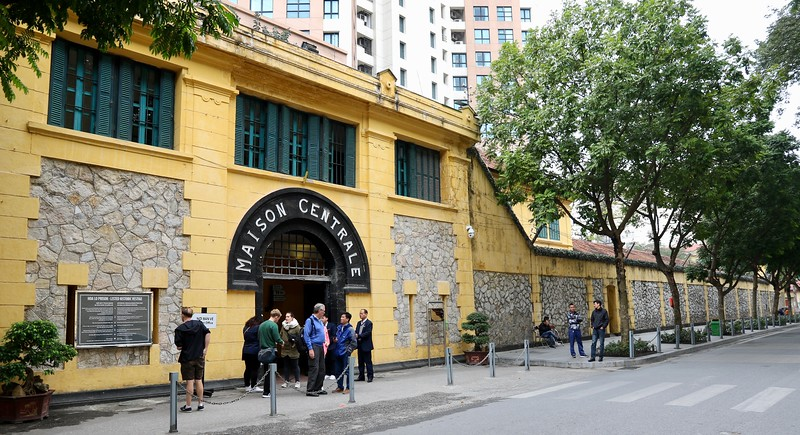 Hỏa Lò Prison was a prison used by the French colonists in French Indochina for political prisoners, and later by North Vietnam for U.S. prisoners of war during the Vietnam War. During this later period it was known to American POWs as the Hanoi Hilton
