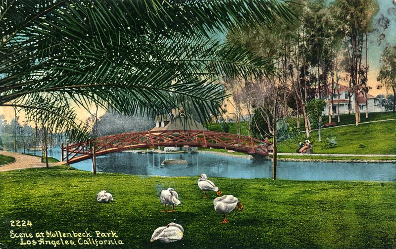 Hollenbeck Park Scene