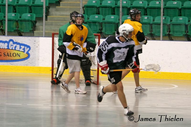 Okotoks Icemen vs Calgary Sabrecats 3, Playoff Game 1 July 03, 2007