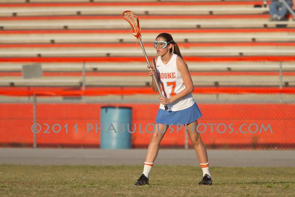 Boone Girls JV Lacrosse 2011 - #17