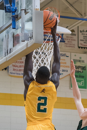 AAAA Boys Quarter Finals Varsity Basketball Provincials 2016