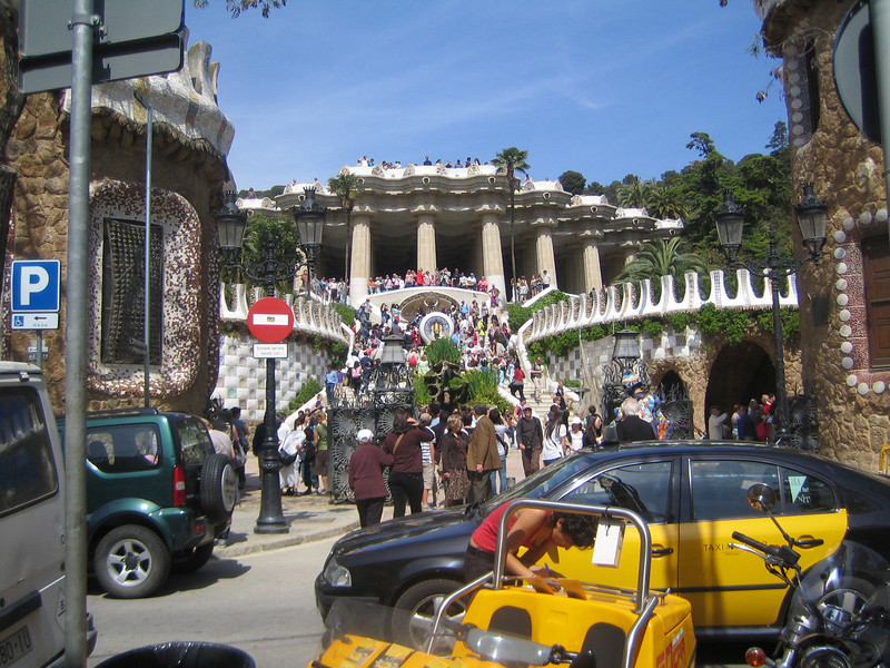Parc Guell.  Another Gaudi design.  And as crazy as I had come to expect.