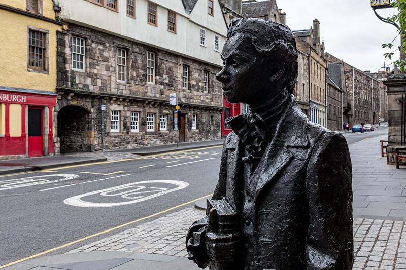 Scottish Poet Robert Fergusson (1750-1774)