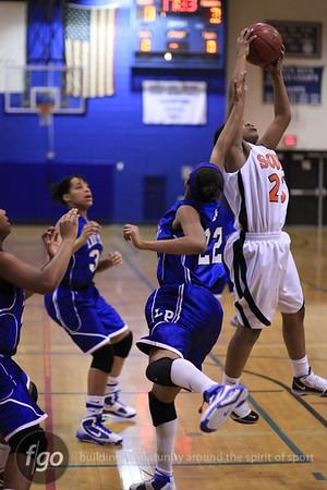 South v North Girls Basketball 2-3-10