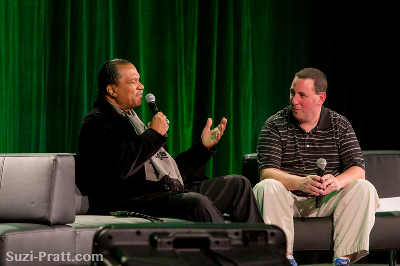 Billy Dee Williams @ Emerald City ComiCon 2013 in Seattle, WA