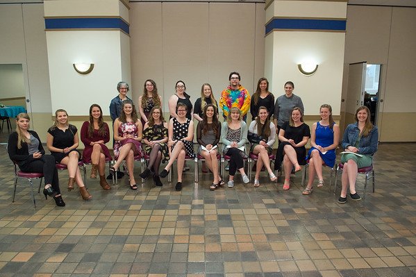 Sigma Tau Delta Induction, 2017