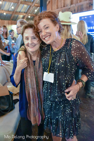 Alice Waters and Gibson Thomas