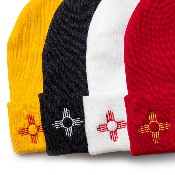 Outdoor Apparel - Organ Mountain Outfitters - Hat - Zia Sun Symbol Beanies Comp.jpg
