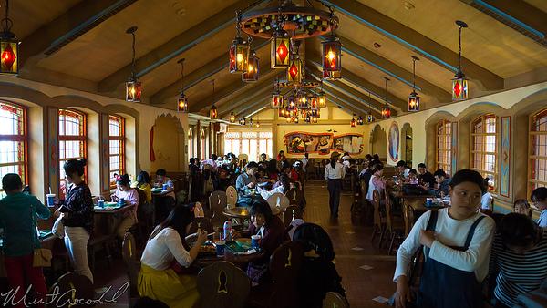 Disneyland, Shanghai Disneyland, Shanghai, China, Fantasyland, Pinocchio, Pinocchio Village Kitchen, Village, Haus, Pizza