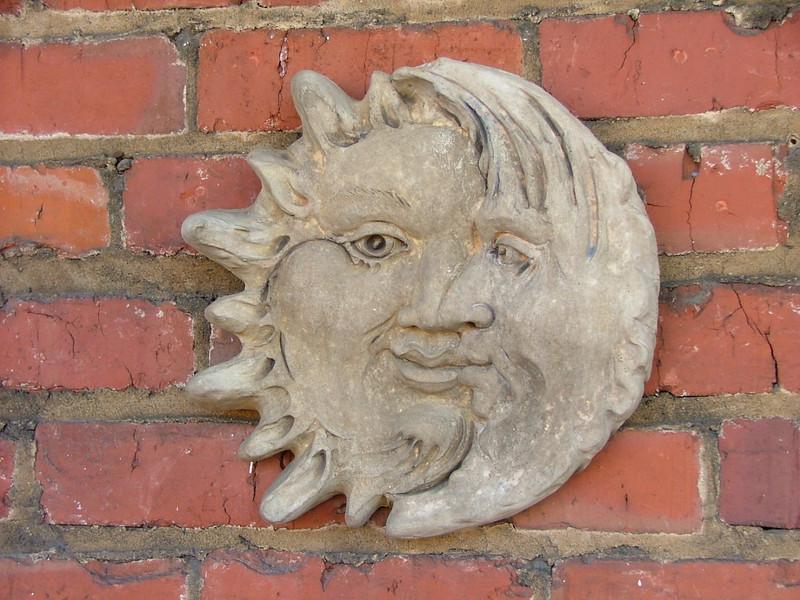 sun and moon art