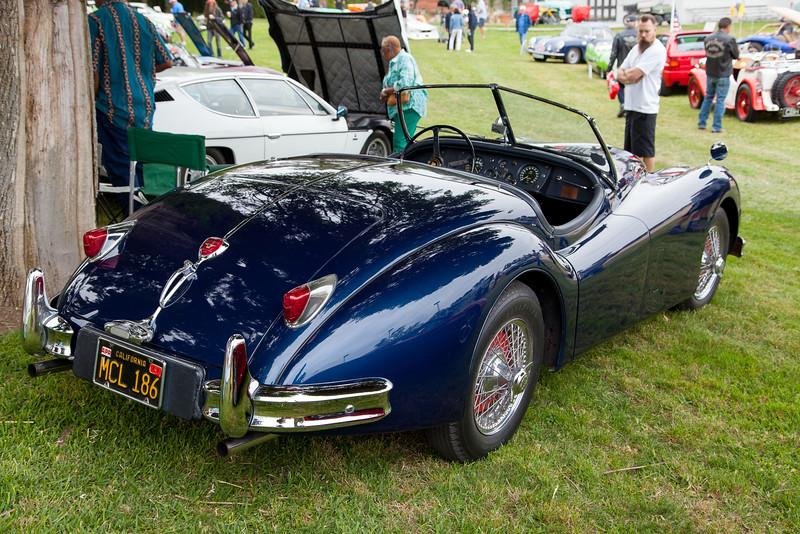 1956 Jaguar XK 140 MC Roadster -  owned by Ernie Ruelas Sr.