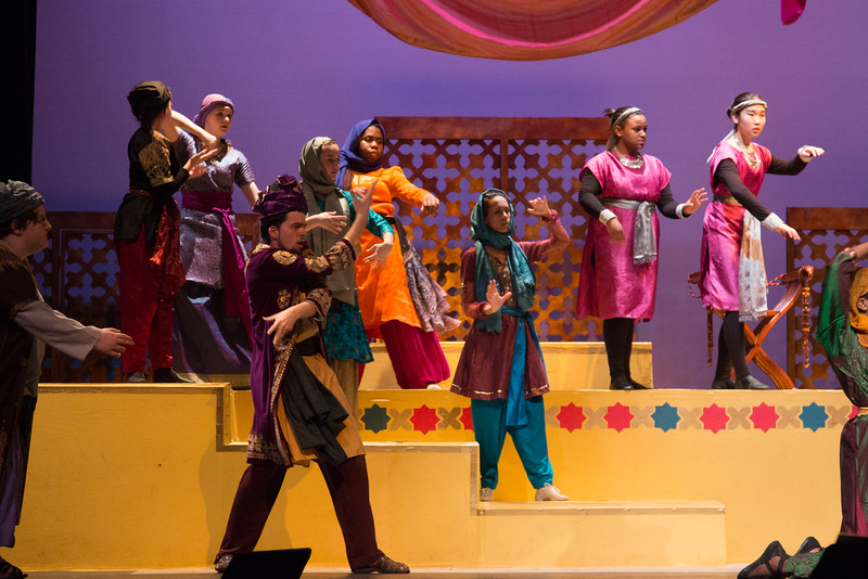 """""""Fate"""" (reprise) -- Kismet, Montgomery Blair High School spring musical, April 15, 2016 performance (Silver Spring, MD)"""