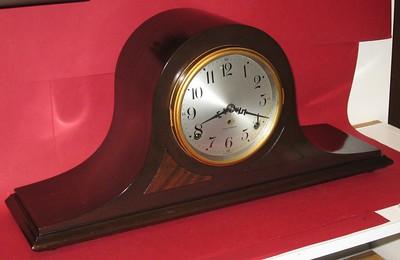 Seth Thomas Sentinel #9 Tambour Mantel Clock