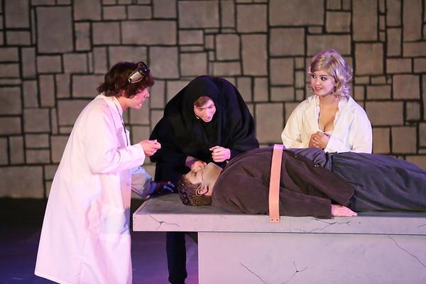Young Frankenstein 2015 High School Play
