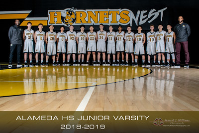 2019 Alameda High Basketball Junior Varsity