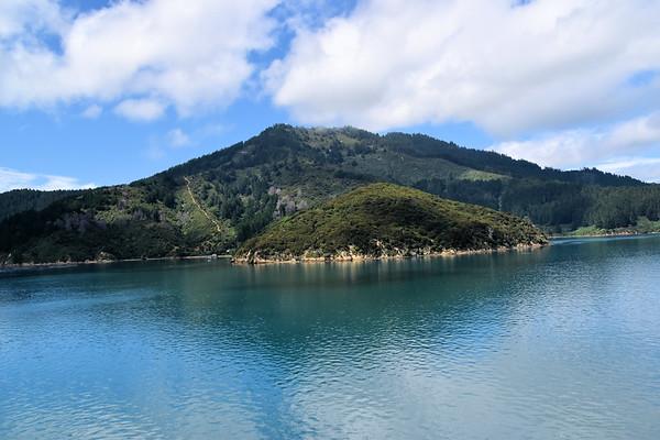 Interislander Ferry to the South Island (January 2018)