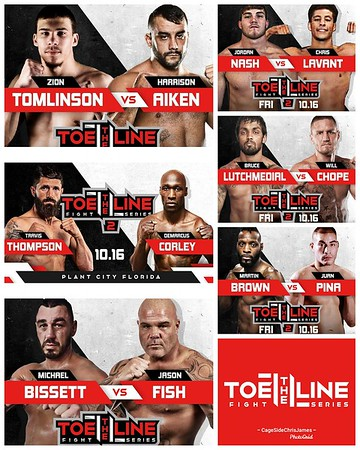 Toe the Line Fight Series 2