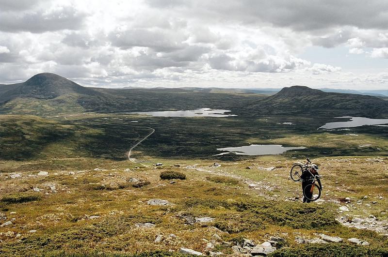 Norsko 2004 | Kola okolo jezer