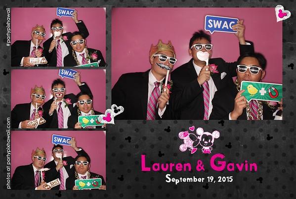 Lauren & Gavin's Wedding (Luxury Photo Pod)