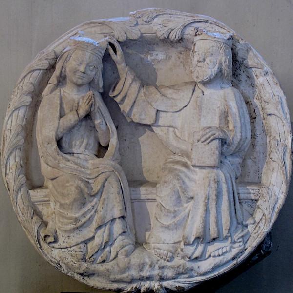 Autun Museum Coronation of The Virgin